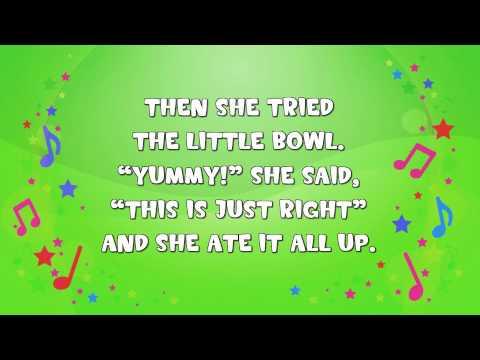 Goldilocks and the Three Bears Story | Fairy Tale | Nursery Rhyme | KiddieOK