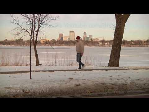 Unseasonably warm weather in Minneapolis, MN - 12/19/2017