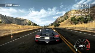 Need for Speed Hot Pursuit: Carson Ridge Reservoir -- Wild Ride