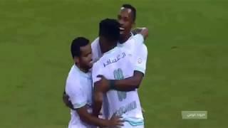 أهداف مباراة الاهلى و الحزم 2-0 الدورى السعودي كامله تالق  المقهوي و عمر السومة21-9-2018