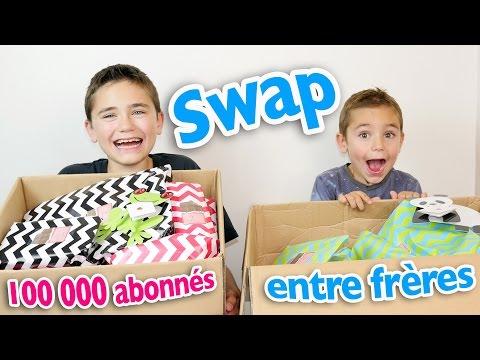 SWAP entre frères pour fêter les 100 000 abonnés !
