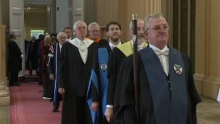 Annie Lennox receives honorary degree