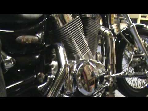 Full System Slashcut Drag Exhaust Suzuki VS1400 Intruder