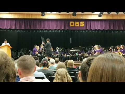 DeLand Middle School Concert 2/19/19