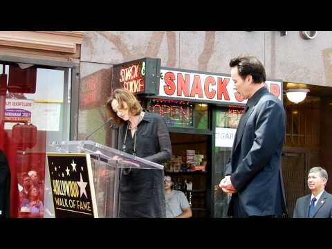 Joan Cusack's Speech at john cusack's  walk of fame star ceremony in hollywood