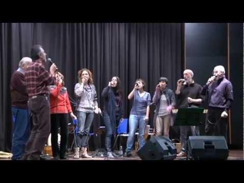 """Concerto de """"L'Escabot"""" all' Uvernada, Borgo San Dalmazzo, 02/11/2012, prima parte"""