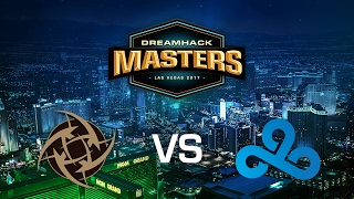 Ninjas in Pyjamas vs. Cloud9 - Overpass - Group C - DreamHack Masters Las Vegas 2017