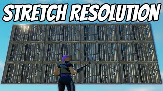 How To Get Strętch Resolution In Fortnite | More FPS, Decrease Input Delay!