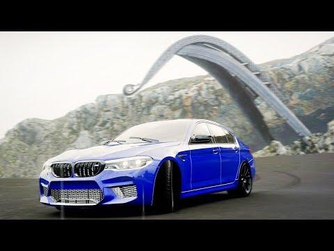 FORZA HORIZON 4 - КУПИЛ ЛОМАННУЮ BMW M5 F90! НОВАЯ КАРТА И ПЕЩЕРЫ В СКАЛАХ! M5 F90 против X5M!