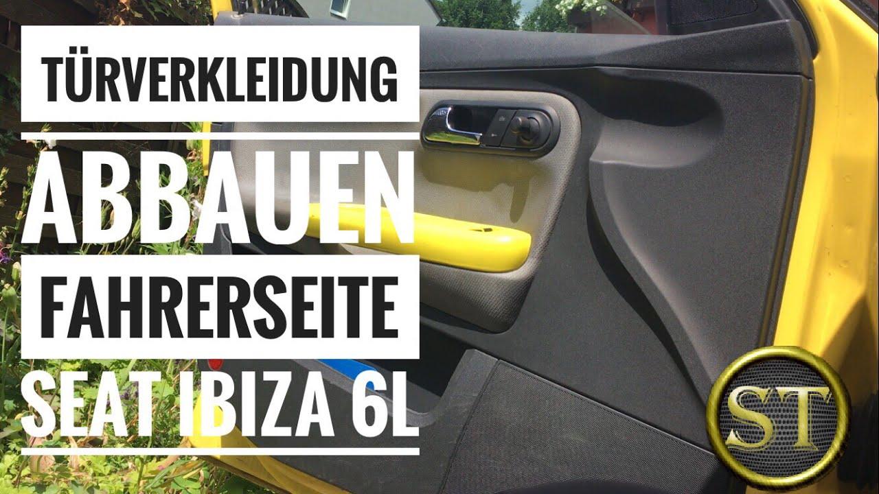 Turverkleidung Ausbauen Entfernen Fahrerseite Seat Ibiza 6l 1 2