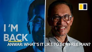 Malaysia's Anwar Ibrahim talks about how it feels to be a free man