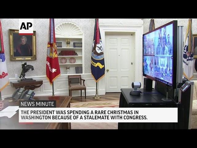 AP Top Stories December 25 P