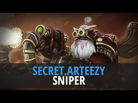 Arteezy (Sniper) - TEAM SECRET vs. EVIL GENIUSES @ Dota 2 As