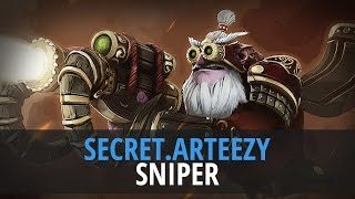 Arteezy (Sniper) - TEAM SECRET vs. EVIL GENIUSES @ Dota 2 Asia Championship 2015(Artour
