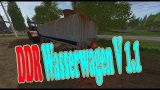 """[""""DDR Wasserwagen"""", """"DDR Wasserwagen Fortschritt"""", """"Mod Vorstellung Farming Simulator Ls17:DDR Wasserwagen""""]"""
