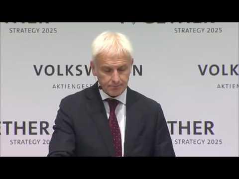 Volkswagen Group Strategy 2025 - Speech Matthias Müller Part 2