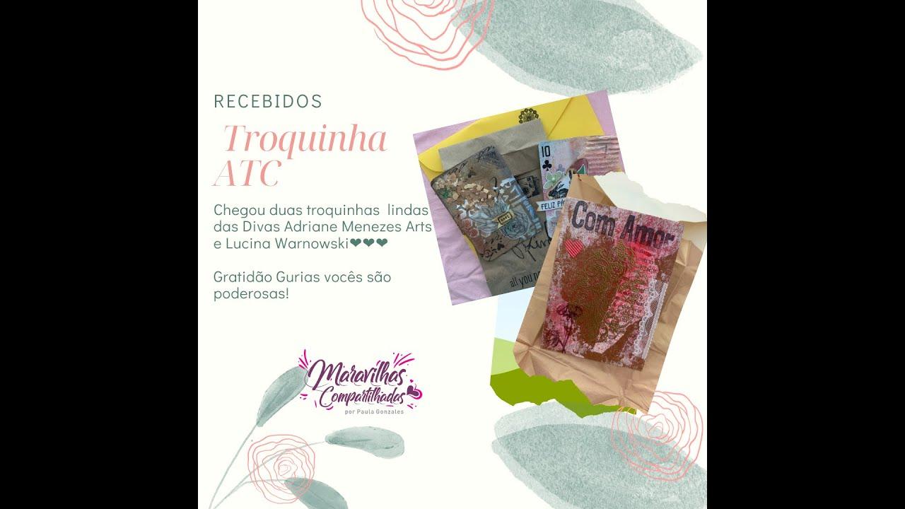 "Recebidos - ATC ""Artist Trading Card"""