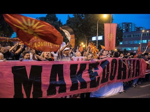 Greek government faces censure vote, protests over Macedonia name deal