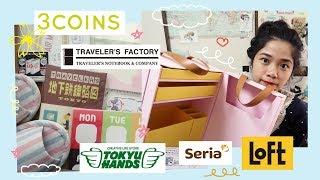 Japan Stationery Haul (LoFT, Tokyu Hands, SERIA, 3COINS, Traveler
