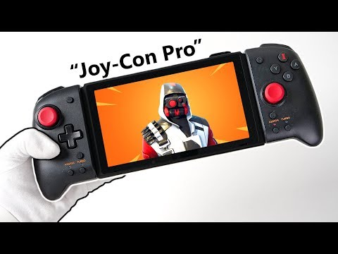 "nintendo-switch-""joy-con-pro""-controller-unboxing!-(aka-split-pad-pro)-+-gameplay"
