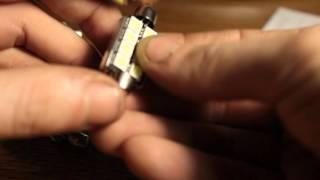 видео Светодиодная лампа SJ-9SMD-5050-39MM