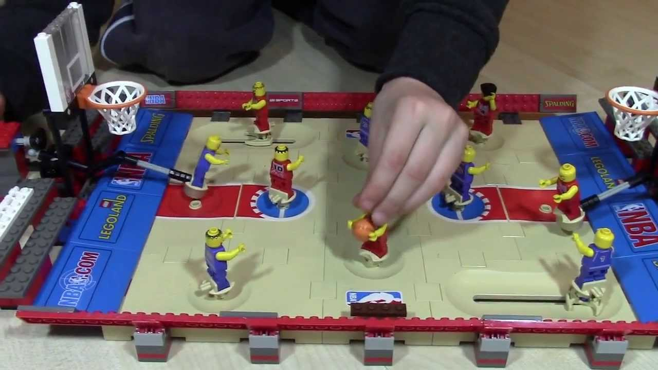 Lego Basketball Let 39 S Build And Play Youtube