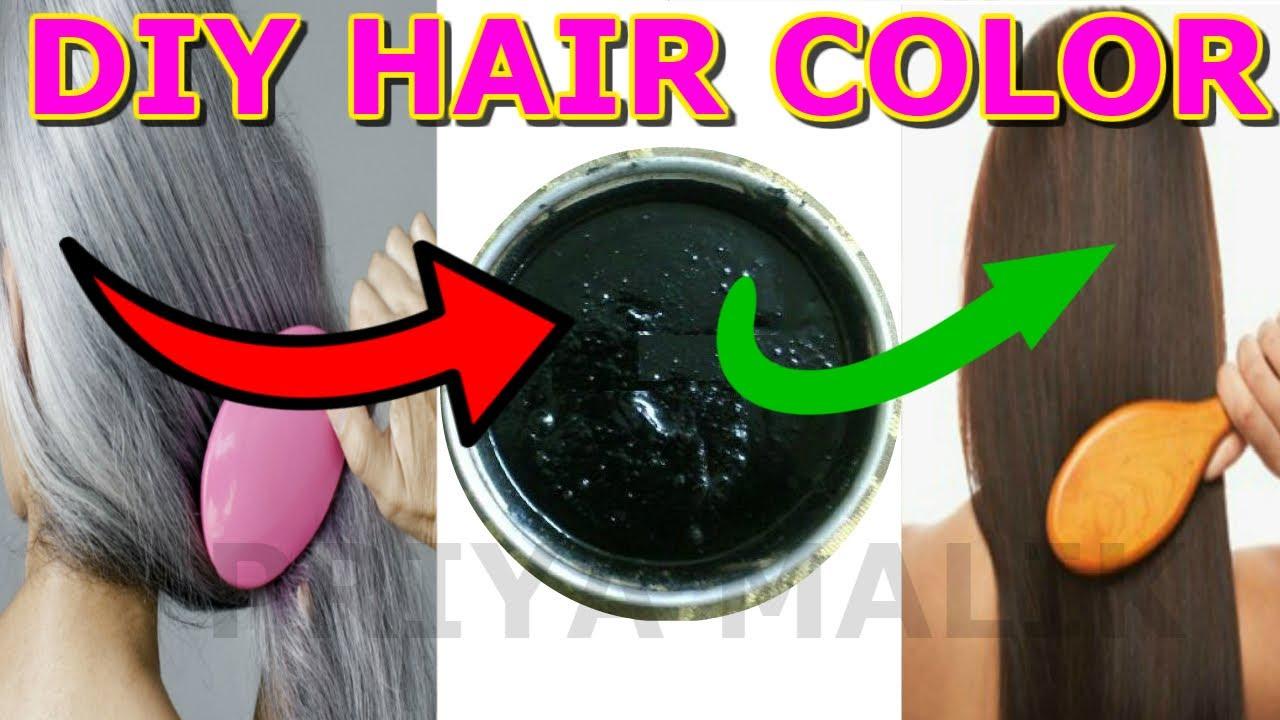 turn white hair black permanently