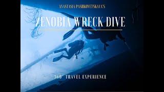 Diving on Zenobia in 360° Cyprus
