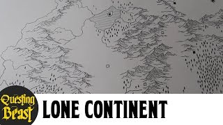 Lone Continent with New Forest Technique!: D&D Fantasy Map Showcase