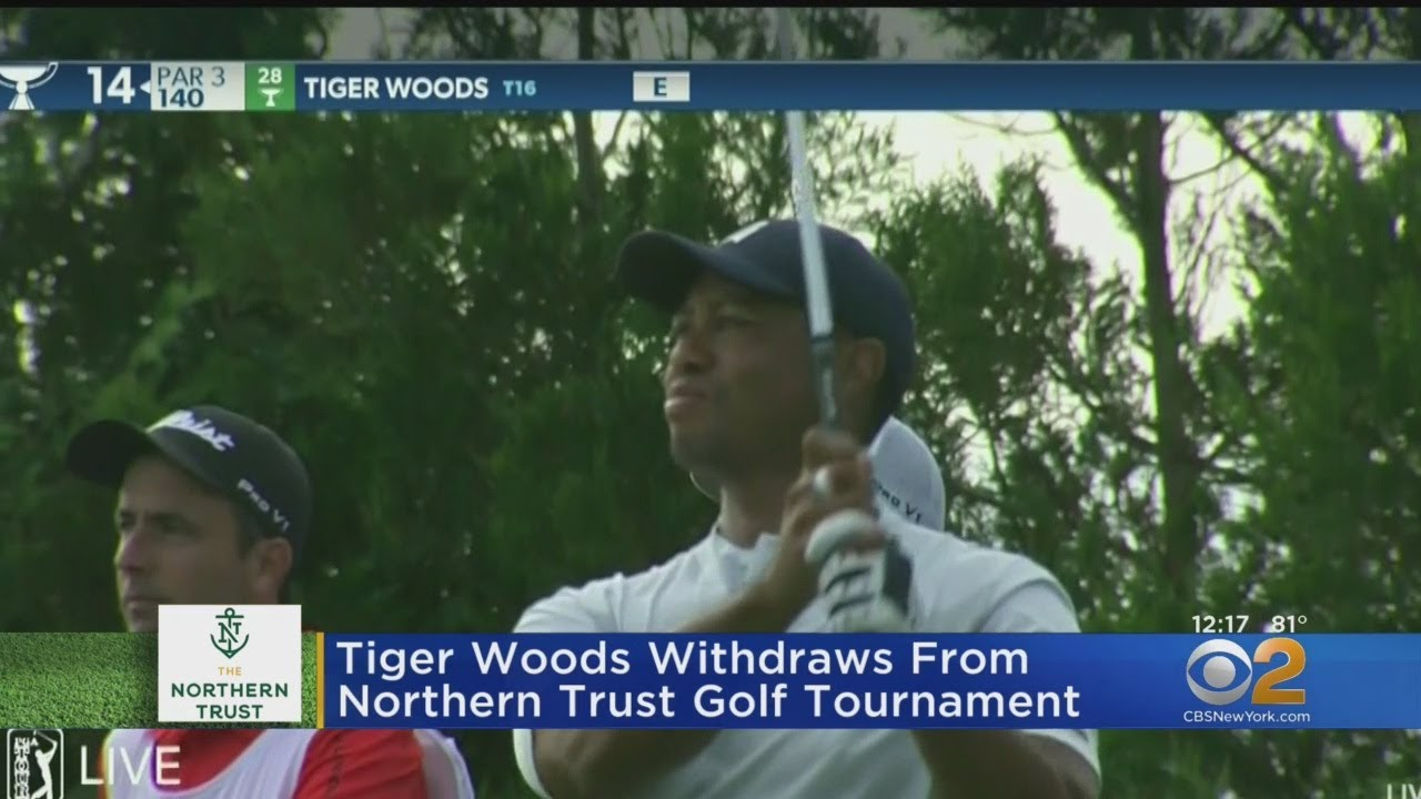 Tiger Woods withdraws from Northern Trust, citing oblique strain (Updated)