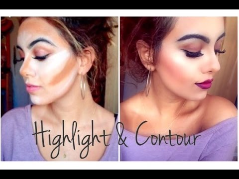 Cream Highlight & Contour | Makeup Tutorial ♡ - YouTube