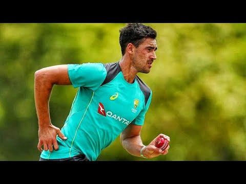 Mitchell starc bowling action in slow motion ( 4k HD ...