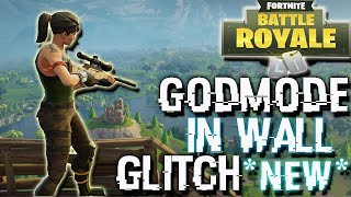FORTNITE BATTLE ROYALE *INSANE GODMODE* & INVISIBLE GLITCH,easy new glitch for fortnite