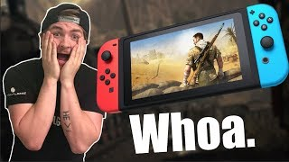 Sniper Elite for Nintendo Switch REACTION!