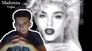 Madonna - Vogue (Official Music Video) REACTION !!