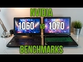 1060 vs 1070 - Laptop Graphics Comparison Benchmarks