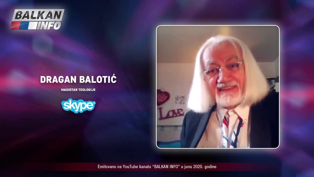 INTERVJU_ Dragan Balotić - Reptili su na Zemlji i hrane se ljudima da bi živeli duže! (16.6.2020)