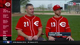 Cincinnati Reds Fantasy Camp: A look behind-the-scenes at the experience