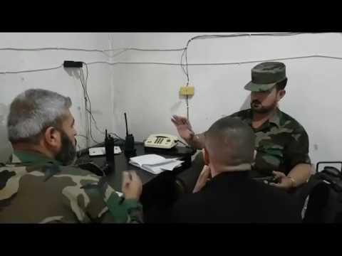 قائد عمليات الجيش السوري شمال حلب العقيد سهيل الحسن يوجه الطيران على جبهة الكاستيلّو