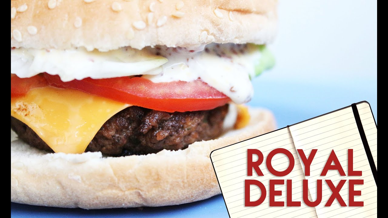 Assez Royal Deluxe - McDonald's ☆ Recipe - YouTube WL48
