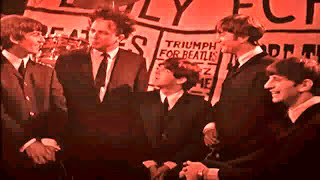 1963 Gay Byrne of Granada TV Talks With The Beatles And Ken Dodd