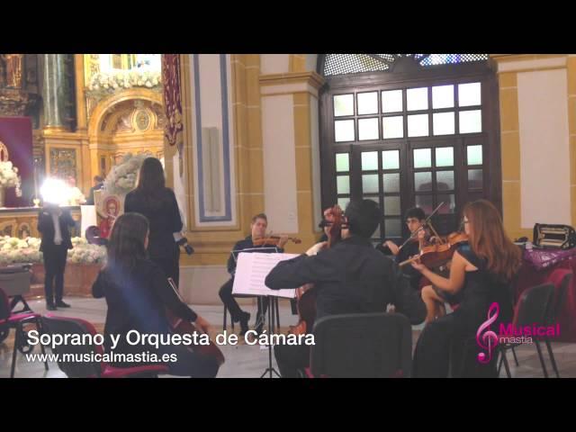 Soprano y orquesta Ave María Convento Los Jeronimos UCAM bodas Murcia