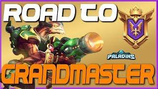 ROAD TO GRANDMASTERS EP 1! Paladins Ranked Gameplay