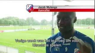 FC Utrecht.TV: Jacob Mulenga blikt vooruit