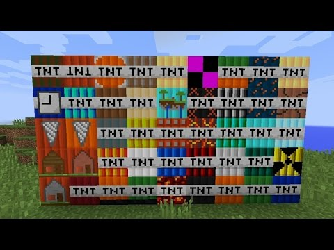 Minecraft TOO MUCH TNT Mod!!! Preko 50 TNT-a, Dinamiti, Neverovatne explozije!!!