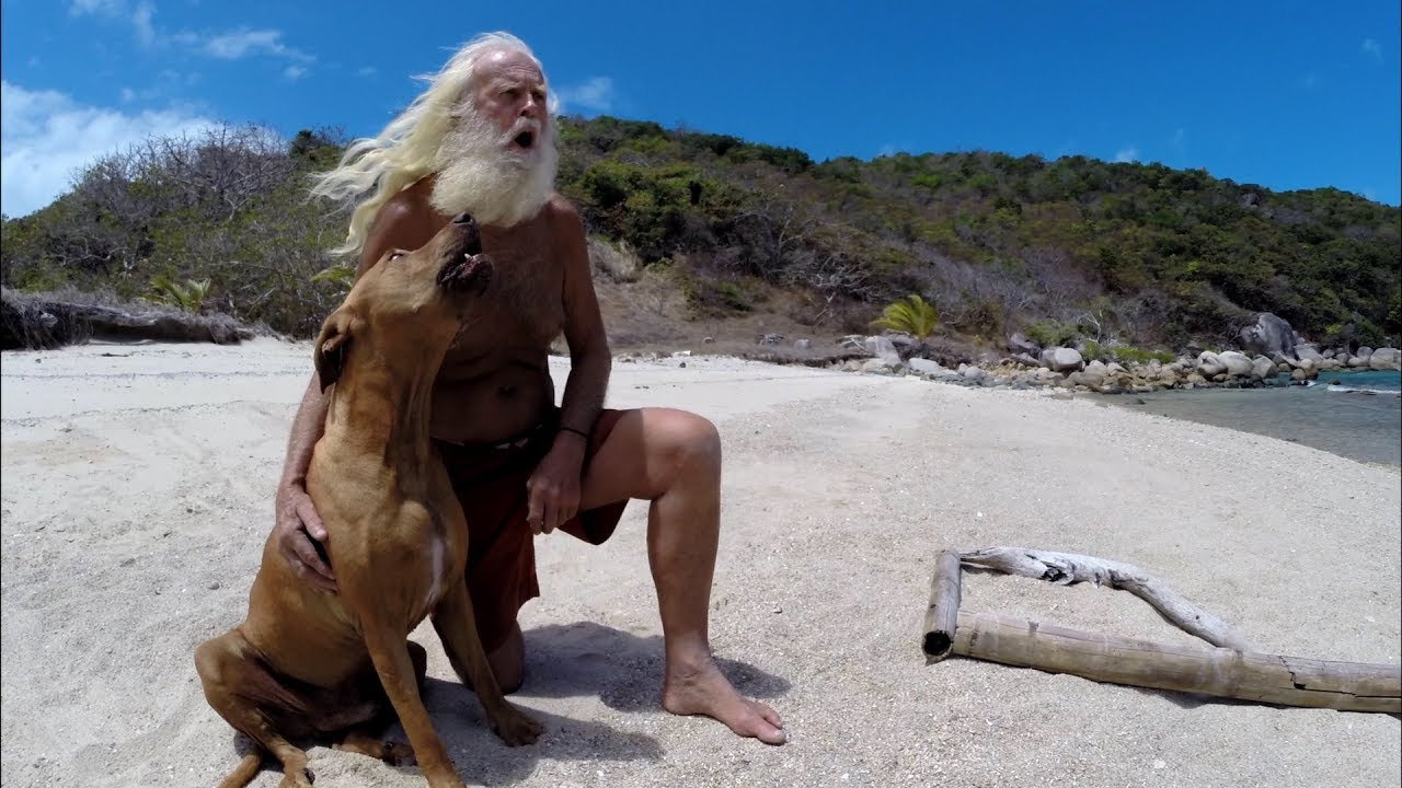 David Glasheen and his dog asking for help - YouTube