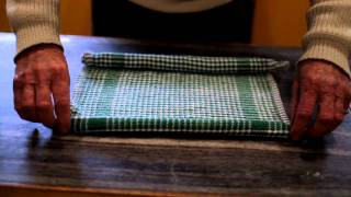 How to make a Chicken out of a Tea Towel by TJ