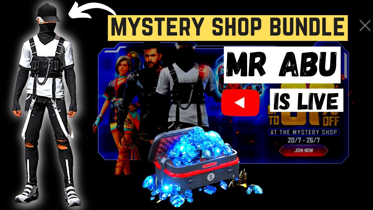 Free Fire live/ mystery shop bundle / MR ABU, Free Fire Pakistan