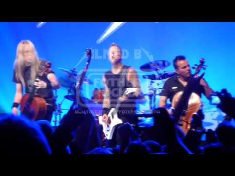 Metallica with Apocalyptica No leaf clover  San Francisco, USA 20111205 1080p FULL HD
