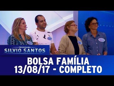 Bolsa Família - Completo | Programa Silvio Santos (13/08/17)